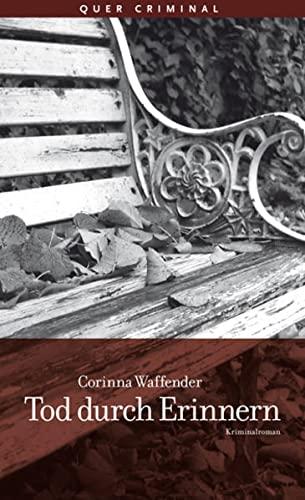 9783896561664: Tod durch Erinnern: Kriminalroman