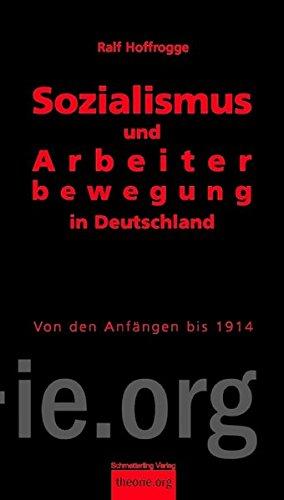 9783896576552: Sozialismus und Arbeiterbewegung in Deutschland 01