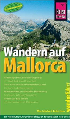 9783896622716: Wandern auf Mallorca