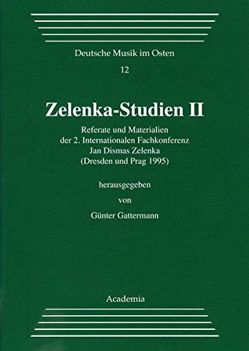 9783896650351: Zelenka-Studien (Deutsche Musik im Osten)