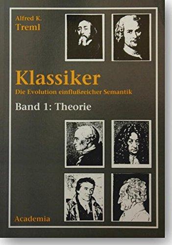 9783896650399: Klassiker: Die Evolution einflussreicher Semantik