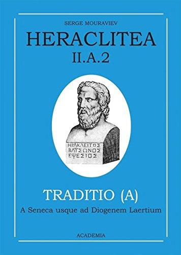 Heraclitea / Témoignages et citations: Serge Mouraviev