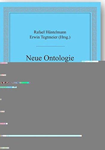 9783896651679: Neue Ontologie und Metaphysik