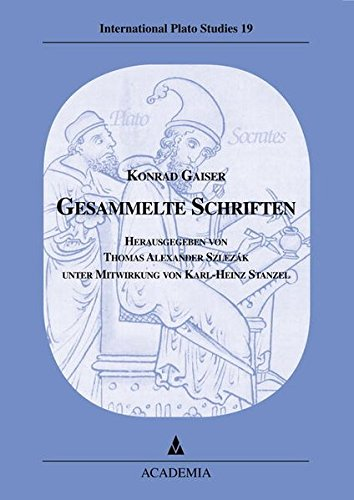 Gesammelte Schriften: Konrad Gaiser
