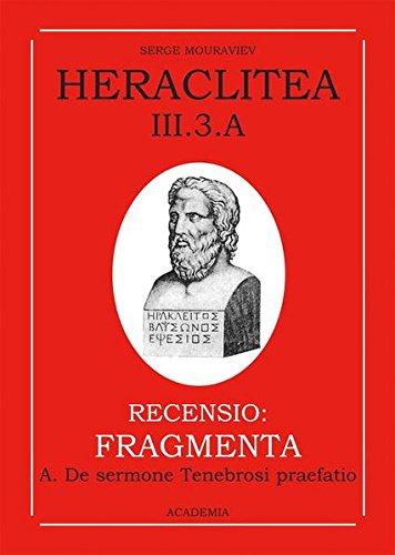 Heraclitea: Serge Mouraviev
