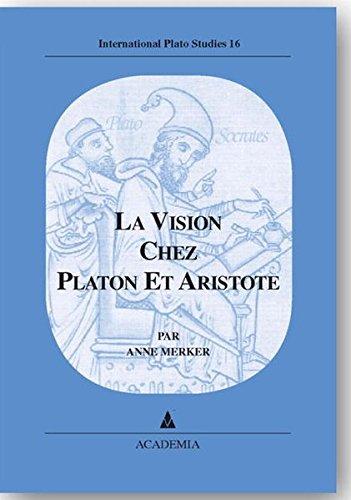 9783896652737: La vision chez platon et aristote