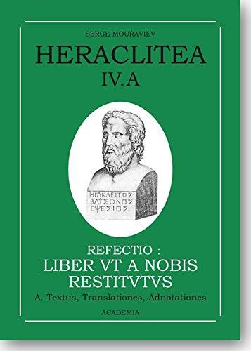Heraclitea IV.A: Serge Mouraviev