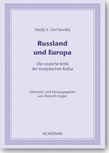 9783896655707: Russland und Europa: Die russische Kritik der europ�ischen Kultur