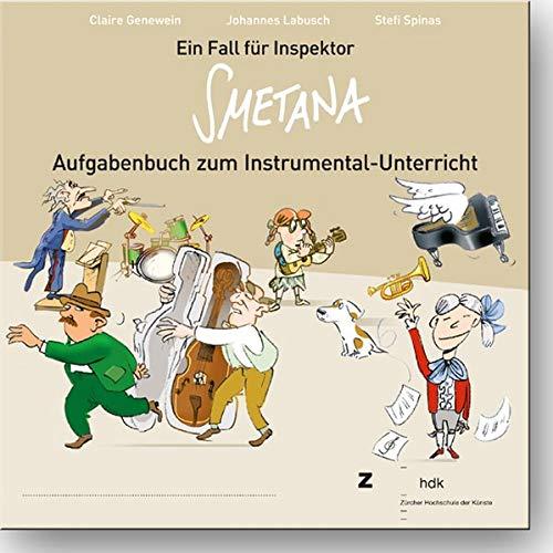 9783896656766: Ein Fall für Inspektor Smetana: Aufgabenbuch zum Instrumental-Unterricht