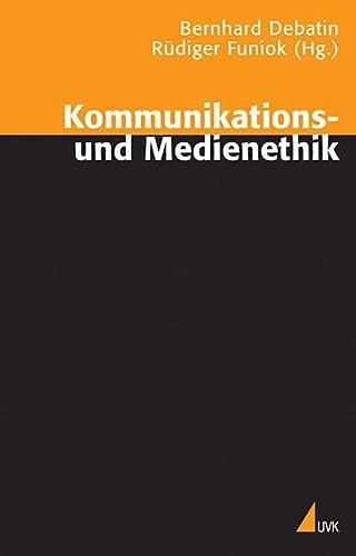 9783896693716: Kommunikations- und Medienethik