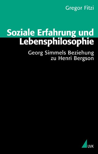 9783896697806: Soziale Erfahrung und Lebensphilosophie