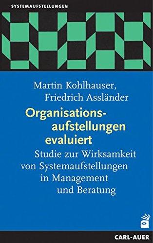 9783896704832: Organisationsaufstellungen evaluiert