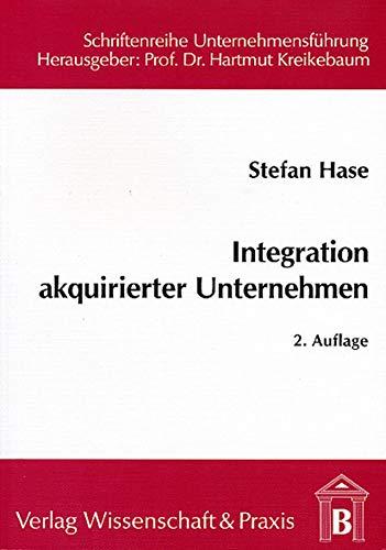 Integration akquirierter Unternehmen: Stefan Hase