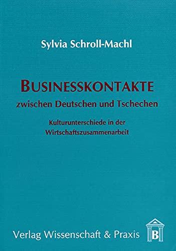 Businesskontakte zwischen Deutschen und Tschechen: Sylvia Schroll-Machl