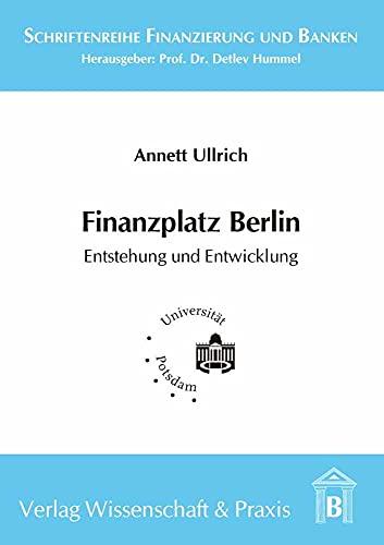 Finanzplatz Berlin: Annett Ullrich