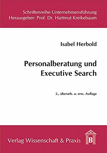 9783896734624: Personalberatung und Executive Search