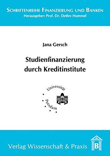 Studienfinanzierung durch Kreditinstitute: Jana Gersch