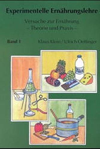 9783896762009: Experimentelle Ernährungslehre. Versuch zur Ernährung - Theorie und Praxis (Livre en allemand)