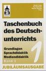 9783896767608: Taschenbuch des Deutschunterrichts 1/2.