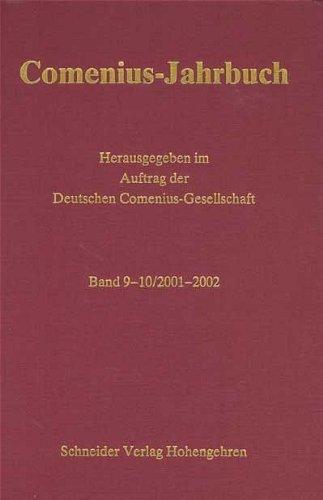 9783896768254: Comenius Jahrbuch: 2001-2002: BD 9-10