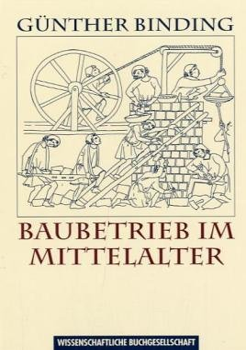 9783896780669: Baubetrieb im Mittelalter.