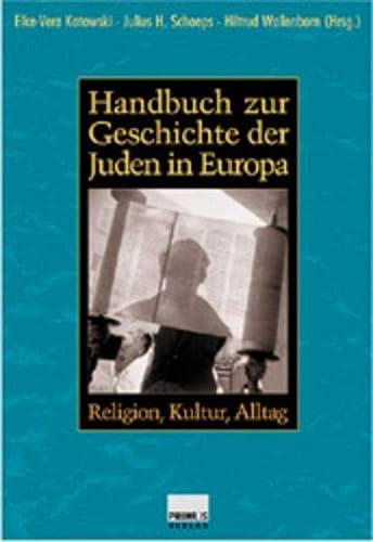 9783896784193: Handbuch zur Geschichte der Juden in Europa