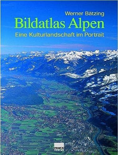 9783896785275: Bildatlas Alpen: Eine Kulturlandschaft im Porträt
