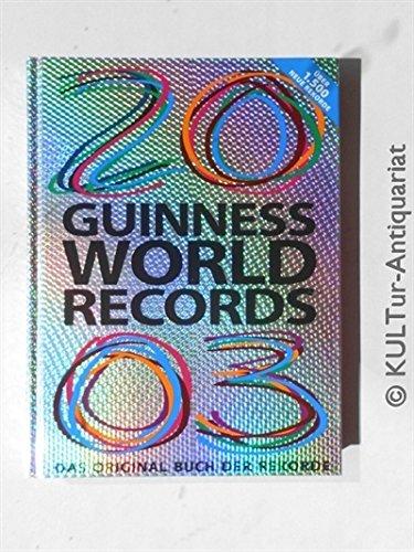 9783896810069: Guinness Buch der Rekorde 2003
