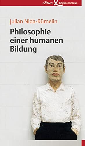 9783896840967: Philosophie einer humanen Bildung