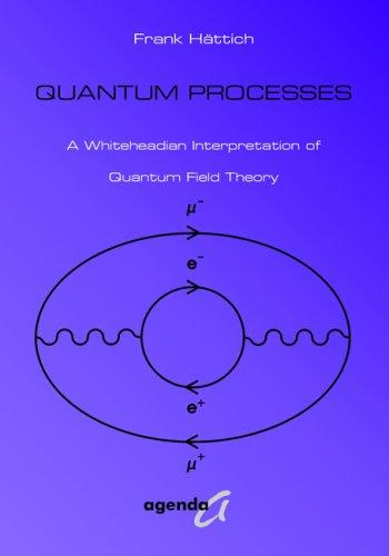 9783896882042: Quantum Processes. A Whiteheadian Interpretation of Quantum Field Theory