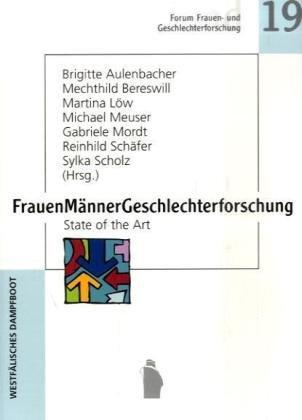 9783896912206: FrauenM�nnerGeschlechterforschung: State of the Art
