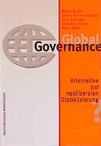 9783896914712: Global Governance.