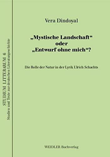9783896932341: Mystische Landschaft oder