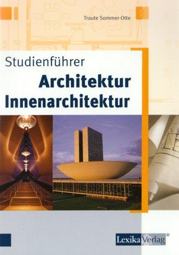 9783896944405: Studienführer Architektur - Innenarchitektur