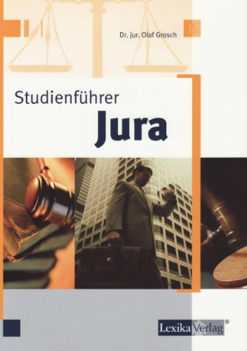 9783896944566: Studienf�hrer Jura