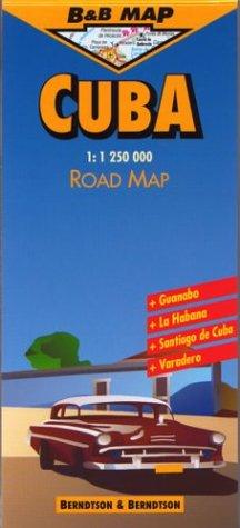 9783897070080: Berndtson & Berndtson Cuba Map (B&B maps)