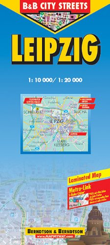 9783897071384: Berndtson & Berndtson Leipzig Map