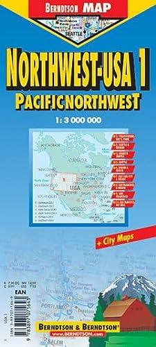 Berndtson & Berndtson Pacific Northwest Map (Road Maps): Berndtson & Berndtson