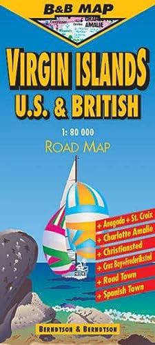 9783897075177: Virgin Islands : 1/80 000: U.S. and British