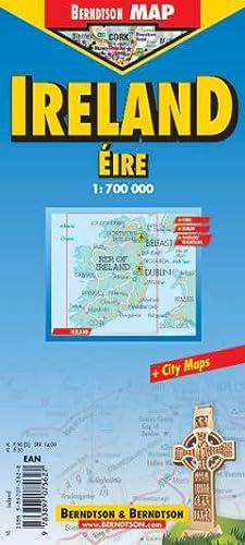 9783897075627: Ireland (B&B Road Maps)