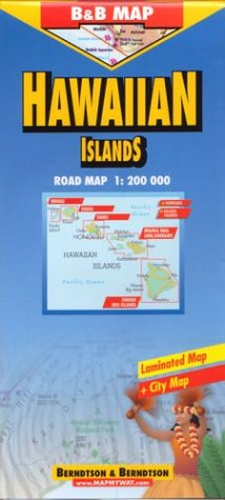 Berndtson & Berndtson Hawaii Map (Berndtson & Berndtson maps) (English and German Edition):...