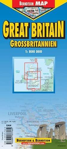 9783897077461: Great Britain (Road Maps)