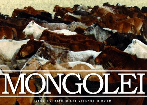9783897169746: Mongolei 2010. Posterkalender