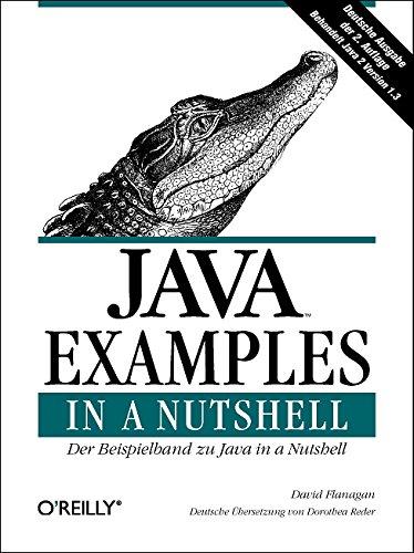 9783897211964: Java Examples in a Nutshell. Deutsche Ausgabe