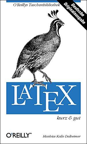 9783897212046: LaTeX - kurz & gut