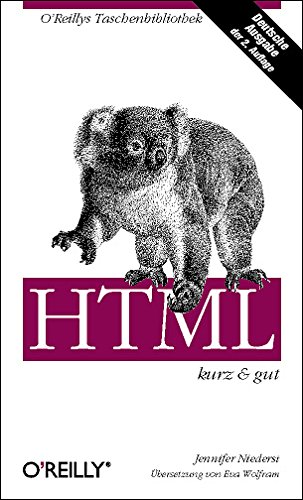 HTML - kurz & gut (3897212439) by Jennifer Niederst