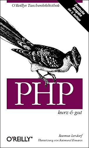 PHP. Kurz und gut (389721251X) by Rasmus Lerdorf