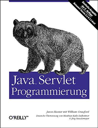 9783897212824: Java Servlet-Programmierung