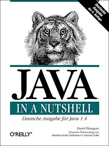 9783897213326: Java in a Nutshell. Deutsche Ausgabe der 4. A.