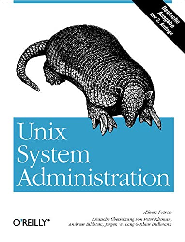 9783897213470: UNIX System Administration